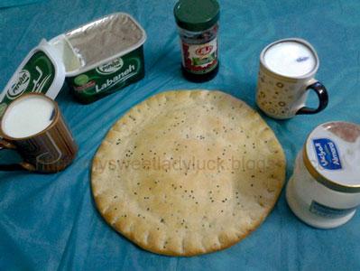 khubz pita bread