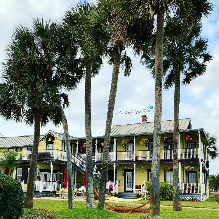 The Bayfront Marin House in St. Augustine, Florida is a lovely place to stay. | Ms. Toody Goo Shoes