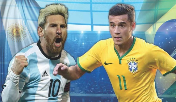 Argentina and Brazil lock horns at Melbourne Cricket Ground on Friday