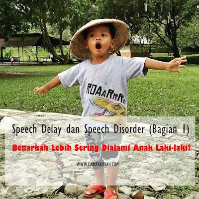 Speech delay pada anak laki-laki