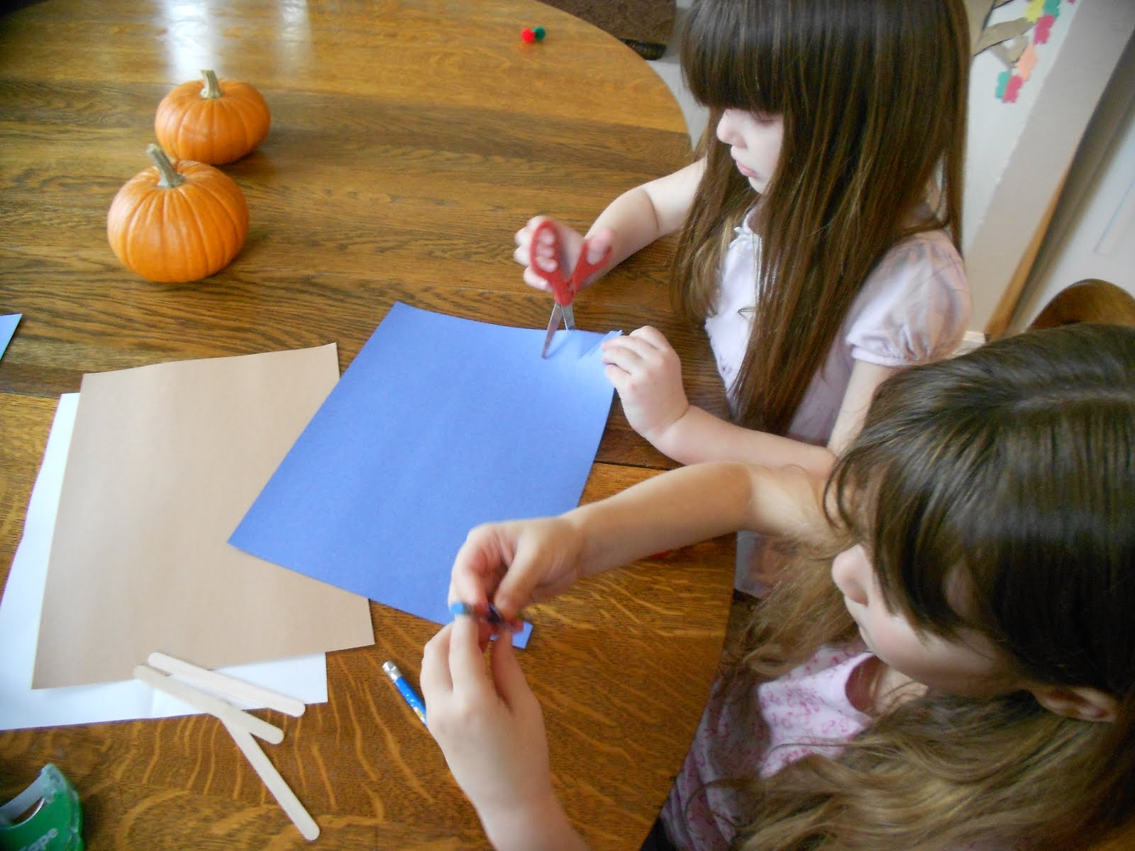 Almost Unschoolers Columbus Day Math Craft