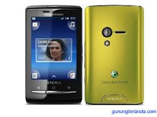 Cara Flashing Sony Ericsson Xperia X10 mini E10i