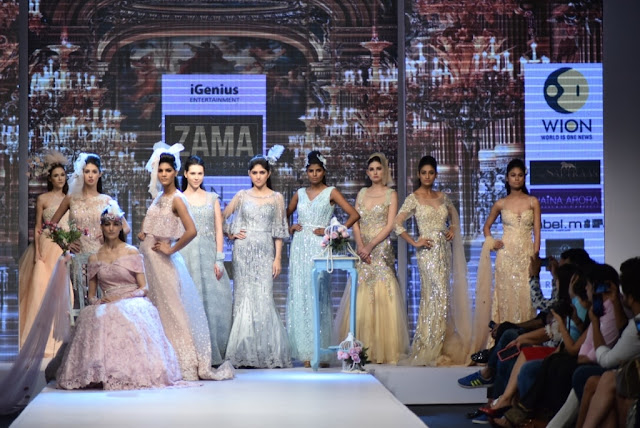 Models on Anjali Sahani Collection