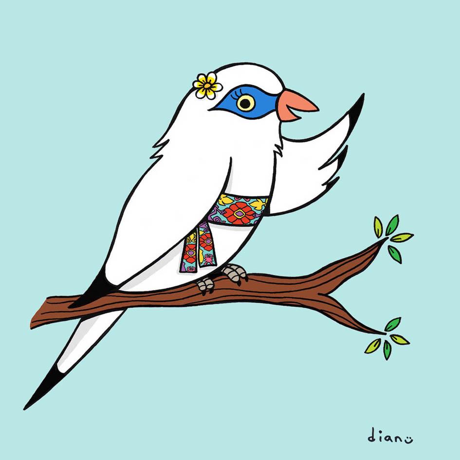 106+ Sketsa Gambar Burung Jalak Bali Terbaik