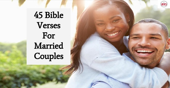 Bible Verses For Married Couples