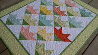 Carolina Lily quilt for Project Quilting - Baby Blooms by Slice of Pi Quilts