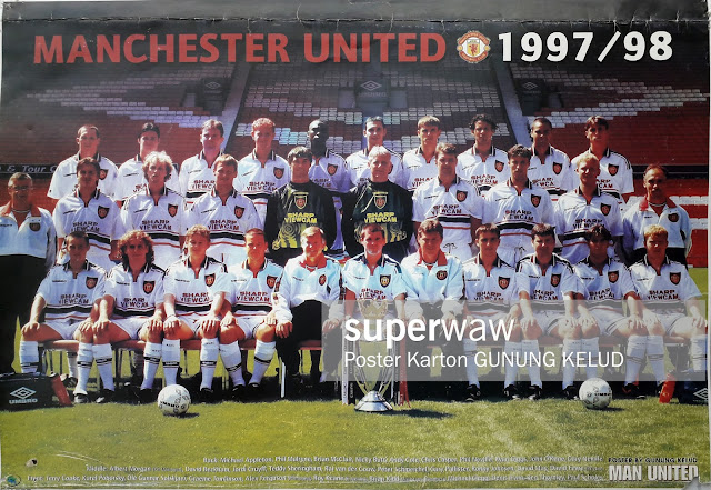 TEAM MANCHESTER UNITED 1997