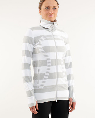 lululemon silver spoon in stride jacket