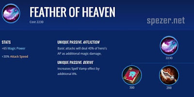 Feather of Heaven - Item Game Mobile Legends