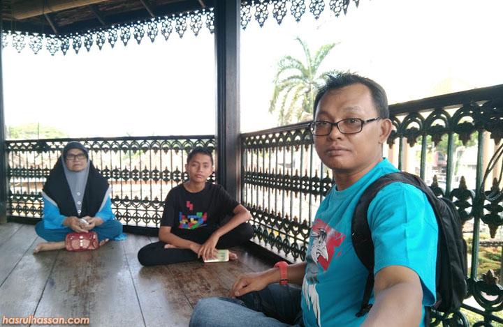 Anjung Atas Istana Jahar, Muzium Adat Istiadat Diraja Kelantan