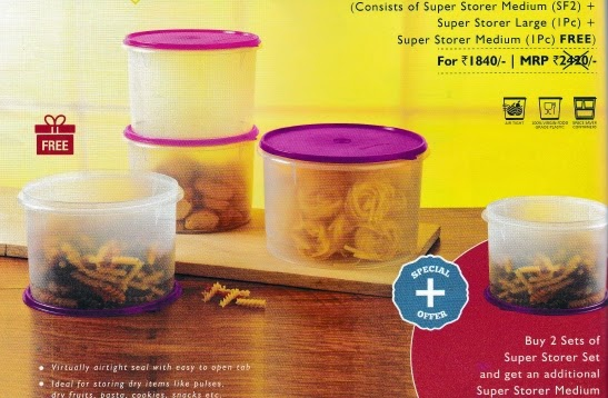 tupperrware super storer set in bangalore