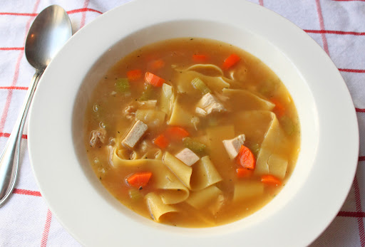 Food Wishes Video Recipes Classic Chicken Noodle Soup