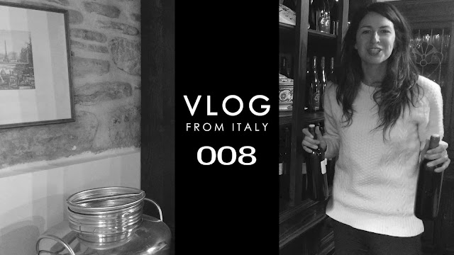 VLOG from ITALY: 008 Back in the Kitchen, Cooking Classes & Bottling Wine