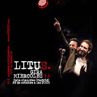 Concierto de Litus en Clamores