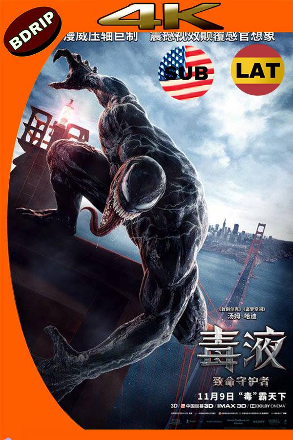 Venom (2018) 4K UHD HDR Latino