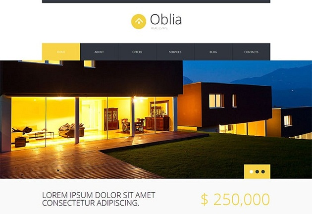 House for Rent Bureau WordPress Theme