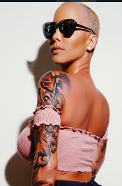 Amber Rose picture posted in Instagram