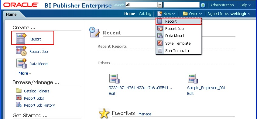 OBIEE TRAINING BI Publisher 11g - Part3 - Creating a Report - how to create a report