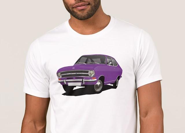 70's Opel Kadett B Coupé t-shirts