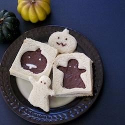 Resultado de imagen de sandwich halloween para niños