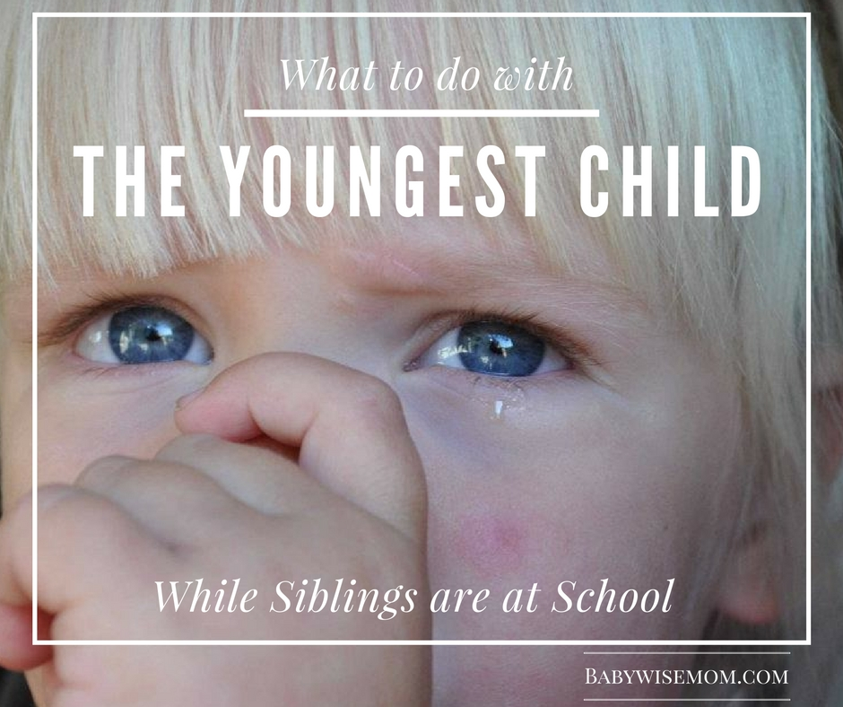 What to do with the youngest child while older siblings are at school