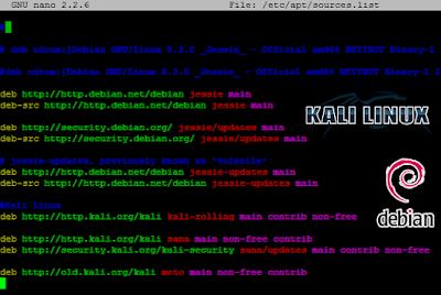 Debian Sunucuya Kali Linux Depolarını Eklemek