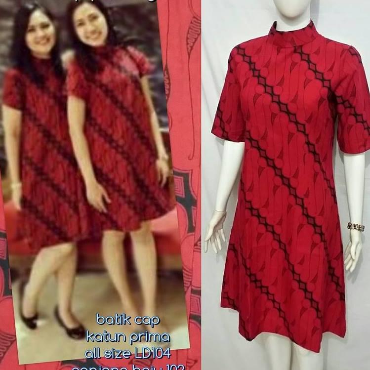 Baju Batik Kerja Wanita 02ebffcb8a