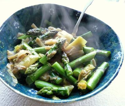 Leeks & Asparagus