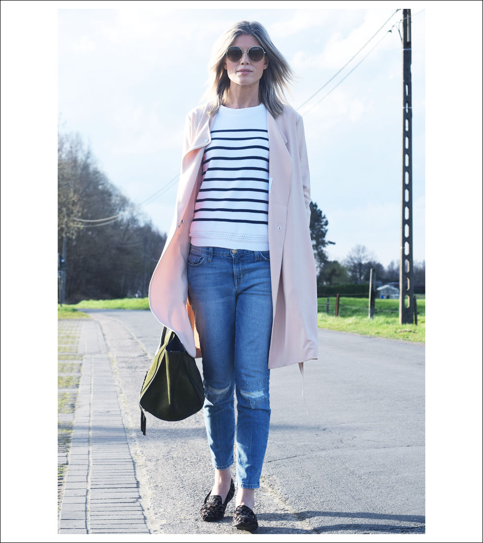 Outfit of the day, samsoe samsoe, Tod's, IKKS, Chloé, Current/Elliott, Céline, ootd, style, fashion, blogger, trench