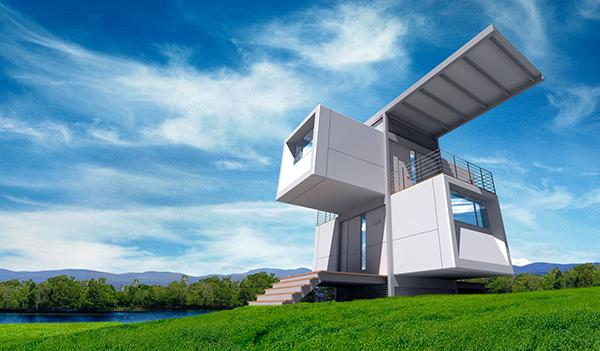 Desain Rumah Masa Depan Unik dan Futuristik