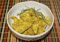 Receta con pollo : Pollo al curry