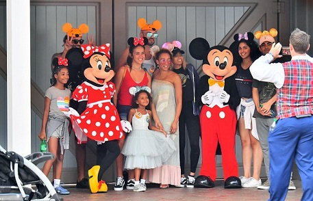 Former Spice Girl, Mel B Takes Daughter To Disneyland To Celebrate Her 6th Birthday