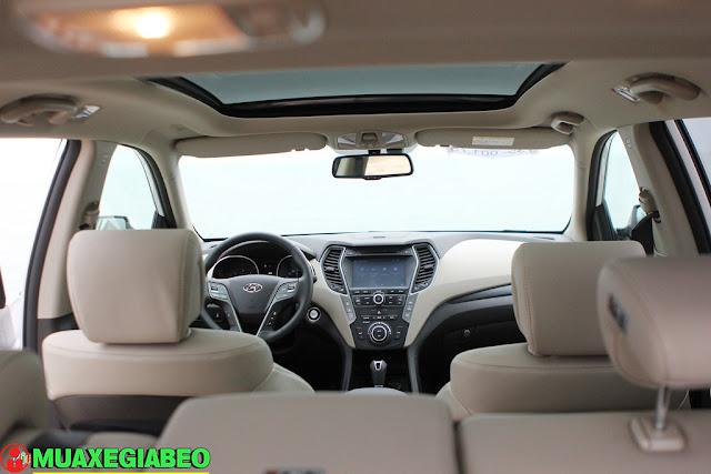Giới thiệu Hyundai SantaFe 2.4L máy xăng phiên bản đặc biệt AWD ảnh 12