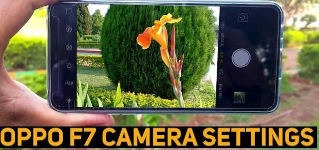 Setting Kamera OPPO F7