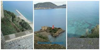 il mare azzurro e cristallino del golfo di Baia