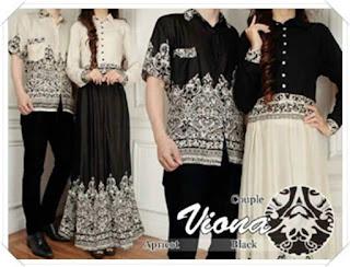 model baju batik untuk pesta pernikahan pasangan muda