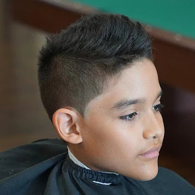 Cristiano Ronaldo-Inspired Boys Cut