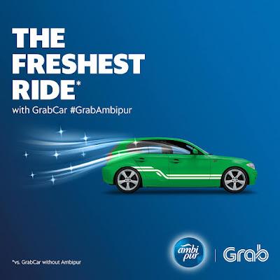 Grab Promo Code Ambi Pur Discount Ride