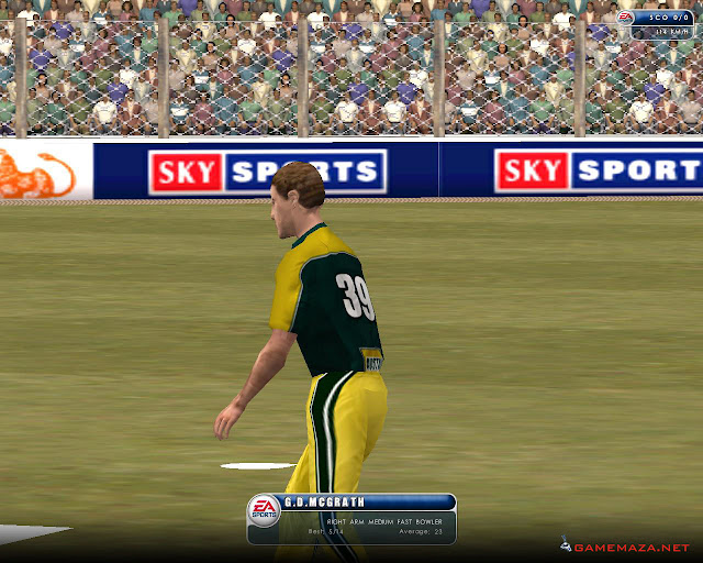 EA Sports Cricket 2002 Gameplay Screenshot 3