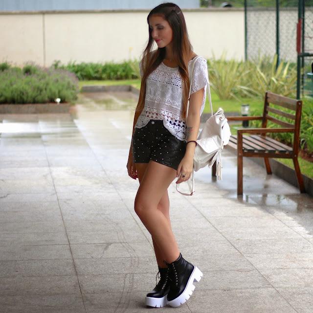 look short sola tratorada