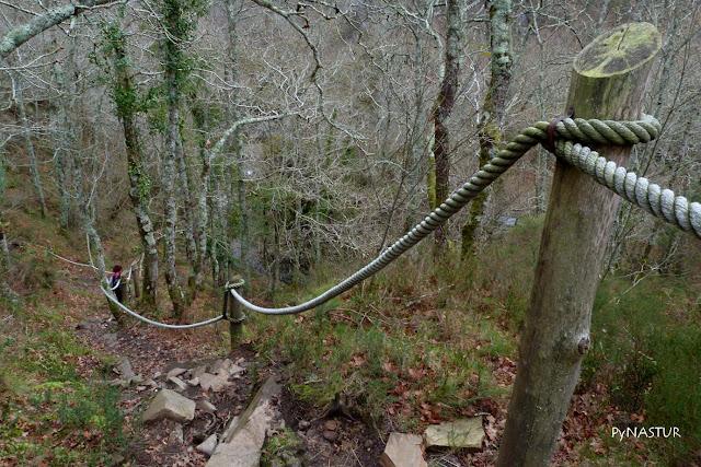 Camino a las cascadas del Cioyo - Castropol - Asturias