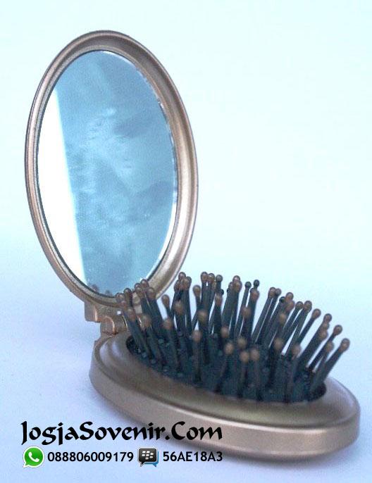 Jual Souvenir Cermin Sisir Oval
