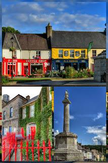 Westport town in County Mayo Ireland