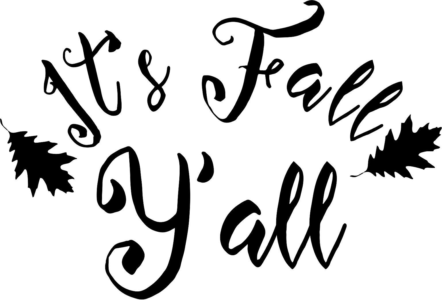 Happy Fall Y All Free Svg Files