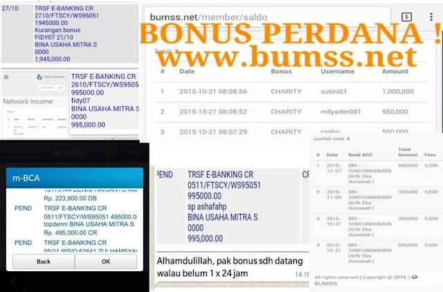 Bumss Makasar, Bumss Palembang,Bumss Kupang, WA 0857 1219 4466