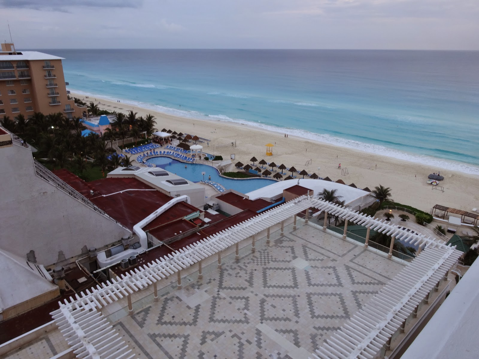 As It Was Toward S The End Of High Season We Got A Deal On Orbitz For Week At Sandos Resort An All Inclusive Holiday Destination