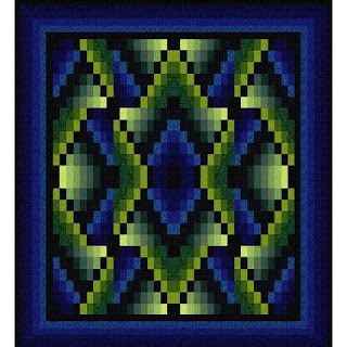 Quilt Inspiration Free Pattern Day Bargello Quilts