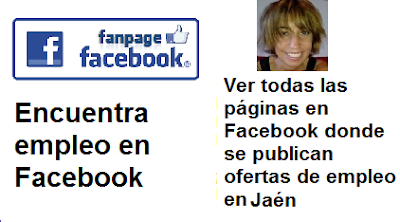Ofertas de empleo en Facebook, Jaén, Andalucía