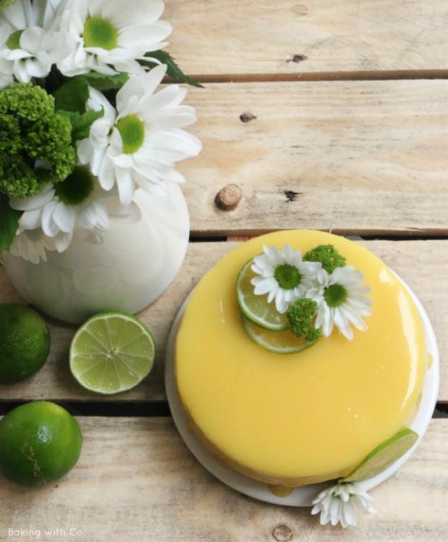 cheesecake de lima o limon sin horno