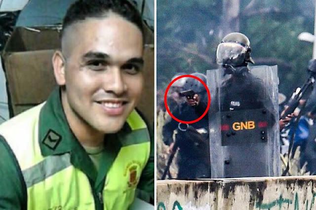 ¡VÉALOS! Identificados los GNB que dispararon contra manifestantes este #19Jun (+Fotos)